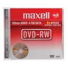 Maxell - 5 x DVD-RW - 4.7 GB ( 120min ) 2x - jewel case - storage media