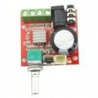 Mini Digital Audio Amplifier 10W+10W / 2 Channel AMP/ DIY Module Class D HIFI 2.0 (DC12V)