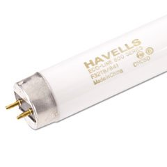 ** Fluorescent Tubes Low Mercury, 120 V, 25/Pack