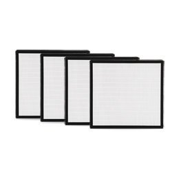 Alen (FF50-Silver-Carbon-4) HEPA-Silver-Carbon Replacement Filter for BreatheSmart FIT50 BreatheSmart Air Purifier, 4-Pack