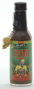 Blairs Jalapeno Death Sauce With Signature Skull Key Chain by Blair's