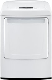 For Sale! LG DLE1101W 7.3 Cu. Ft. White Electric Front Load Dryer