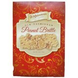 Old Dominion Old Fashioned Peanut Brittle 6oz box Pack of 3