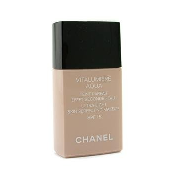 Exclusive By Chanel Vitalumiere Aqua Ultra Light Skin Perfecting Make Up SFP 15 - # B50 Beige Sienne 30ml/1oz