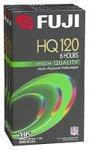 Fuji HQ T-120 High Quality 6 Hours VH...