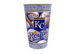 Kansas City Royals 32 oz Metallic Cup Open Stock (Sold by 1 pack of 12 items) PROD-ID : 755255