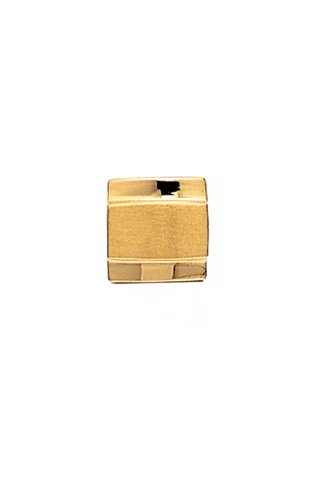 14K Yellow Gold Tie Tac-Brushed Finish Center-86535