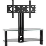 Omnimount Modena 47FP Video Table, Fits Most 37-Inch to 47-Inch Flat Panels (Black)
