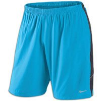 Nike Nike 9 Inch Dri-Fit Running Shorts - Large - Blue