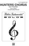 Hunters Chorus Part(s) Saxophone By Carl Maria von Weber / arr. Sigmund RascherHunters Chorus Part(s) Saxophone By Carl Maria von Weber / arr. Sigmund Rascher