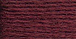 DMC Pearl Cotton Skeins Size 5 27.3 Yards Very Dark Garnet 115 5-902; 12 Items/Order