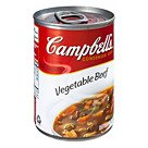 Campbells® Condensed Vegetable Beef Soup; 10.5 Oz., 12/Pk