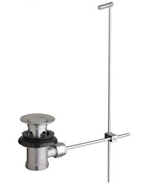 Opiniones de acero inoxidable v lvula de desag e con mecanismo manual para lavabo comprar en - Valvulas para lavabos ...