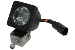 Led Light - 10 Watts - 1 X 10 Watt - 900 Lumens - 2 Inch Square - Stud Mount - 9-48Vdc(-White-Flood)