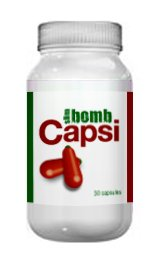 Capsicum Diet Pills That Work Fast By Slim Bomb - 30 Weight Loss Capsules