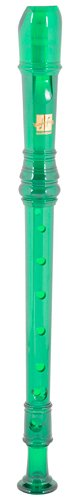 Harmony H147G Traditional Style C Soprano Recorder (Translucent Green) back-296519