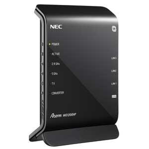 NEC Aterm WG1200HP 無線LAN親機(Wi-Fiルーター) 同時利用タイプ PA-WG1200HP