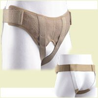 Discrete Adjustable Support Compression Hernia Relief Belt