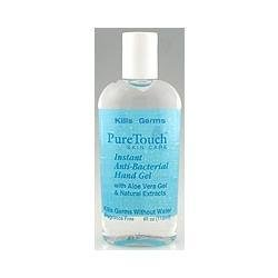 PureTouch Skin Care Instant Anti-Bacterial Hand Gel 4 fl. oz. travel size