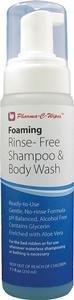 Pharma-C-WipesTM Foaming Shampoo and Body Wash No-Rinse 7.1 oz by Pharma-C-WipesTM