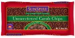 Sunspire Unsweetened Carob Baking Chips, 10 Ounce -- 12 per case.
