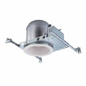 Commercial Electric 5 In. White Recessed Lighting Housings and Trims (6-pack)