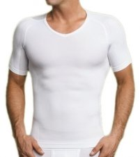 Equmen Firm Control Shapewear V-Neck Tee