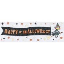 Martha Stewart Crafts Happy Halloween Banner Sticker