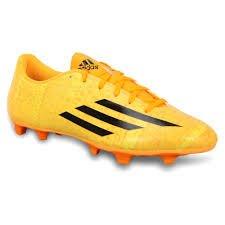 ADIDAS da uomo F5 MESSI FG Scarpe da calcio - oro - UK 9-12, Oro (oro), 12 UK