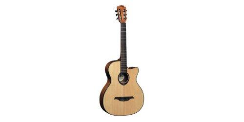 Lag Tn66Ace Standard Series Nylon Cutaway Acoustic-Electric Guitar