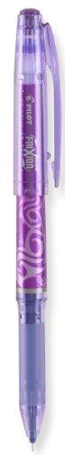 Pilot FriXion Extra Fine Point Erasable Gel Pen Open Stock-Purple