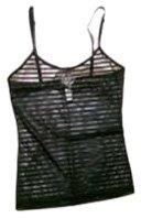 Dolce  &  Gabbana Underwear Sottoveste Stretch Black Camisole - Small