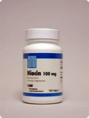 Niacin (Vitamin B3) 100 mg 100 Tabletten DL