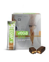 Vega One All-In-One Meal Bars-Chocolate Peanut Butter Box Sequel 12(2.26Oz) Box
