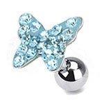 Aqua Crystal Papillon Acier chirurgic...