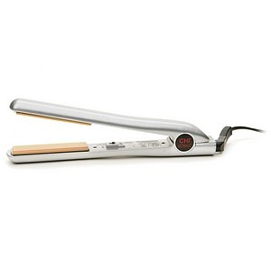 CHI Ionic Single Pass Ceramic Hairstyling Iron GF1121, Sterling Silver