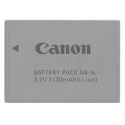 Canon NB-5L Kamera Akku Li-Ion (1120 mAh, 3.7V) für Ixus 800 IS / 850 IS / 900 Ti / 950 IS