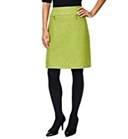 M&S Collection 100% British Wool A-Line Mini Skirt