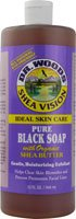Dr. Woods Shea Vision Pure Black Soap With Organic Shea Butter - 32 Fl Oz