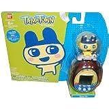 Tamagotchi Tamatown Black and Yellow Tama-go with Mametchi Gotchi Figure Charm