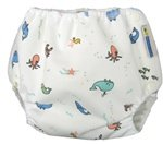 Air Flow Wrap - Nappy Cover - Ocean - XSmall