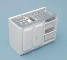 Miniature Utility Sink sold at Miniatures (Self Contained Doll House compare prices)