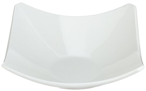 10 Strawberry Street Whittier 11 Inch Coupe Square Bowl White
