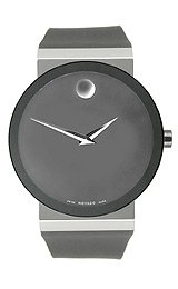 Movado Men's 606268 Sapphire Synergy Black Rubber Strap Watch