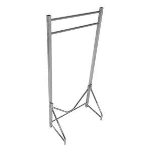Coat Rack, Floor Stand, Single, 36-48 In W metal floor coat hanger assembly simple coat rack living room clothes rack