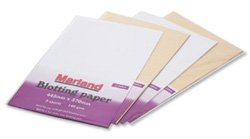 Marland Blotting Paper Folded Cream Pk25