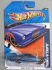 Hot Wheels 2011 Heat Fleet '11 4/10 Fish'd & Chip'd 94/244 (Blue with Red Flames) - 1