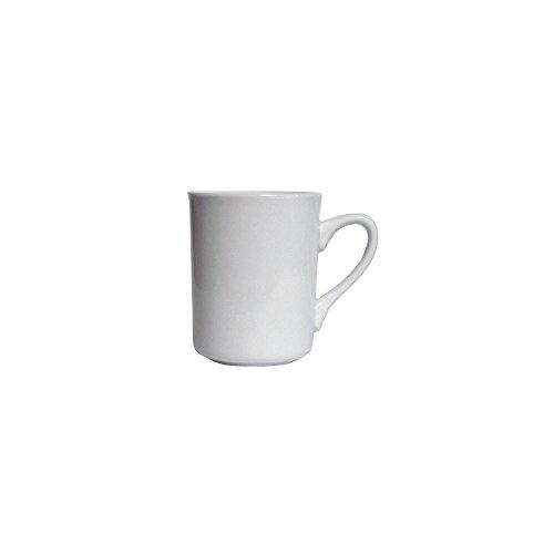 Tuxton Alm-085 8.5 Oz. Brea Porcelain Mug - 36 / Cs