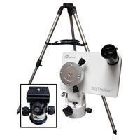 Ioptron Skytracker Camera Mount Kit With Mount, Ball Head, Tripod, Polar Scope, 7.7 Lbs Load Capacity, White