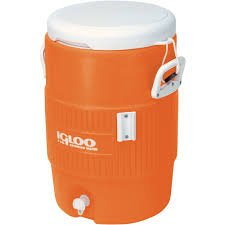Igloo Beverage Cooler - Orange (5 Gallons) front-35962